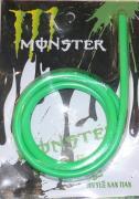 Бензошланг 4мм зелёный (силикон) 1 метр