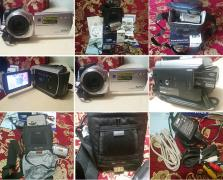 Camcorder SONY DCR-SR47E with a set of accessories