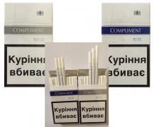Cigarettes Compliment super slims (White, Blue) wholesale