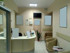 фасадный офис, медицинский центр