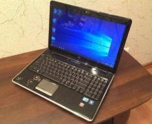 Gaming laptop HP Pavilion DV6 (tanks draws)