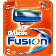 Gillette Fusion 2 картриджа в упаковке