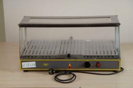 Heated display unit Roller Grill used