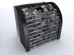 Каменка для сауны на дровах и дымоход для печи