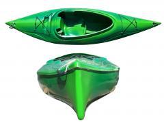 Kayak fiberglass single