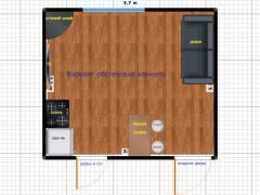 Квартира-студия на Заболотного
