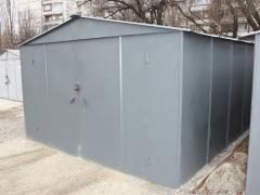 Металлический гараж стальной 1,2 мм