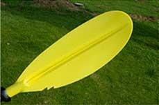 Paddle for kayak kayak two-piece