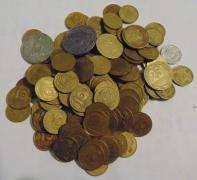 Продам 142 монеты одним лотом Монеты Украины