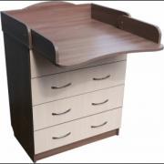 Promotion! Set: Dresser+ crib pendulum Natalka+ mattress + post