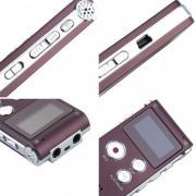 QC-09 Профессиональный цифровой мини диктофон 8Гб памяти