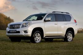 Rent a car Toyota Land Cruiser 150 Prado from $15 per day