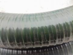Рукав 100(102) мм ПВХ гофра, напорно-всасывающий мбс морозостойк