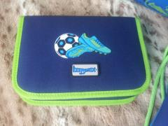 School backpack Hama Step By Step Soccer Blue BaggyMax new