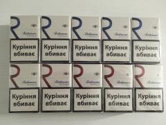 Selling wholesale cigarettes Rotmans royals red, blue