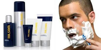 Shave and skin care men from Amway
