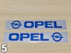 Stickers on Renault Trafic Opel Vivaro