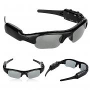 Sunglasses smart goggles with HD digital camera audio video