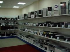 Trading racks for audio, video, computer equipment