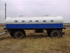 Виготовлення водовозів, молоковозів, рибовоз та інших автоцистер
