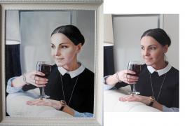 """""""Я превращу Вашу фотографию в шикарный портрет маслом!"""""""